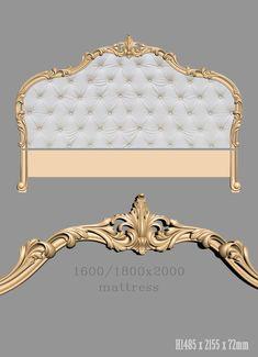 BED models for cnc router Luxury Bedroom Sets, Luxury Bedroom Furniture, Mirrored Furniture, Bed Furniture, Luxurious Bedrooms, 3d Cnc, Bohemian Bedroom Decor, Bathroom Design Luxury, Upholstered Beds