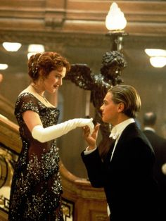 Pictures from James Cameron-directed film Titanic starring Leonardo DiCaprio & Kate Winslet 73362 Titanic Kate Winslet, Kate Winslet And Leonardo, Leonardo Dicaprio, Love Movie, Movie Stars, Movie Tv, Perfect Movie, Perfect Couple, Film Titanic
