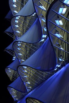 'The Wave' Building.  Cardiff Bay in South Wales