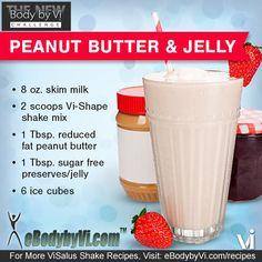 Body by Vi Shake Recipe | Peanut Butter & Jelly
