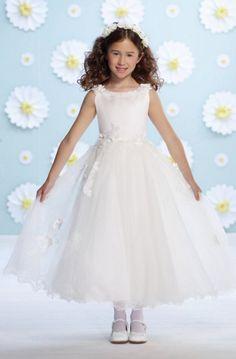 Cute Joan Calabrese for Mon Cheri Flower Girl Dresses