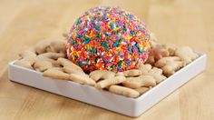 Dig In to This Funfetti Cheese Ball: Who needs an ordinary cheese ball when you can serve up something both colorful and sweet?