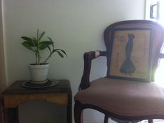 One day I will finish restoring these chairs...