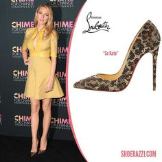f921c46ffeab Blake Lively in Christian Louboutin So Kate Leopard Strass Pumps - ShoeRazzi