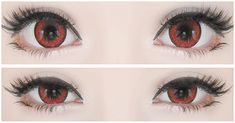 The enlargement is super alluring i.e. 16.5mm. Lens Story Dolly+ Red circle lenses seem to bewitch the gazers. They make you stand out from the crowd as the bright red eyes are strong enough to hold other spell-bounded. Buy here:  http://www.uniqso.com/lens-story-dolly-red