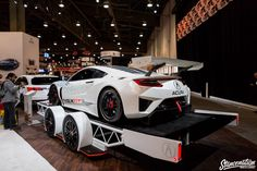The countless weeks, months or even years us car enthusiasts spend preparing our cars for SEMA all come to an end oh-so-fast. Trailer Build, Car Trailer, Camper Trailers, Trailer Manufacturers, Enclosed Trailers, S Car, All Cars, Sport Cars, Custom Cars