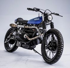"""""""BMW #R100 #scrambler by @fedecubik and @karp_hcg and @federicobonomi67 of @herenciaargentina for @vonberry. Woot!"""""""