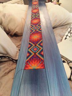 off loom beading techniques Loom Bracelet Patterns, Bead Loom Bracelets, Bead Loom Patterns, Jewelry Patterns, Beading Patterns, Beading Ideas, Beading Supplies, Jewelry Ideas, Bracelet Designs