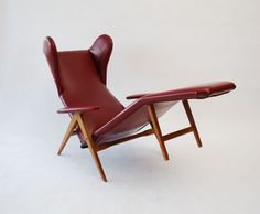 Chaise Lounge Chair by H.W. Klein, ca. 1960