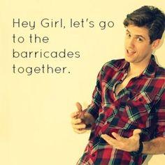 hahahaha Les Miserables <3
