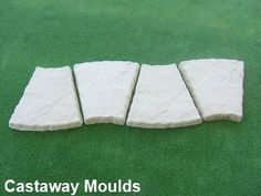 Approx Paver size 275mm x 300mm x 38mm. Made from 2mm durable plastic. Make your own pavers and save $$$ Concrete Paver Mold, Stepping Stone Pathway, Path Edging, Garden Path, Pathways, Plastic, Design, Paths