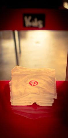 A Day at the Pinterest HQ: There is an area in the back full of a bunch of Pinterest t-shirts, including this adorable tiny-sized one for kids.  - photo from #treyratcliff Trey Ratcliff at http://www.StuckInCustoms.com - all images Creative Commons Noncommercial