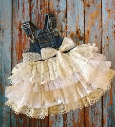 Half first birthday denim vintage linen and lace flower girl country wedding shabby chic rustic burlap dress overalls bow 6 9 12 18 24 month – Products - Baby Clothes Baby Outfits, Baby Girl Dresses, Kids Outfits, Flower Girl Dresses, Dress Girl, Denim Vintage, Moda Vintage, Vintage Linen, Shabby Vintage