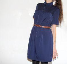 Eloïse midnight blue // Un été couture / République du Chiffon // Jolies bobines