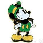 Mickey Mouse Labor DayClip Art | eBay Image 1 Disney Pie Eyed Mickey Mouse Irish St. Patricks Day Pin