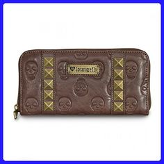 Loungefly Skull/Pyramids Wallet (Brown) - Wallets (*Amazon Partner-Link)