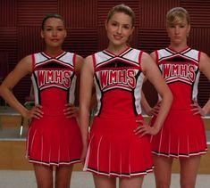 Glee! William McKinley High School Cheerleaders #cheer #cheerleading