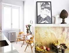 at home in milan. / sfgirlbybay