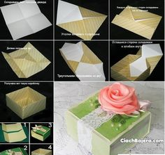 How To Make Gift Boxes Origami