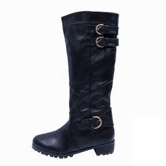#COACHFACTORY Coach Eleanor Black Boots CQS