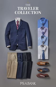 No matter your style, Jos. Bank has something for you. Tap the Pin to shop the selection today. Mens Style Guide, Men Style Tips, Business Casual Men, Men Casual, Suit Fashion, Mens Fashion, Terno Slim, Traje Casual, Sharp Dressed Man