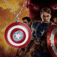 Moda jóias super herói capitão américa escudo colar pingente cosplay partido jóias lembrança para fan crianças amor //Price: $US $1.58 & FREE Shipping //    #ironman #spiderman #homemaranha
