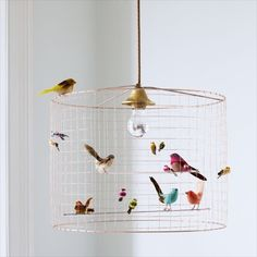 Bird Cage Chandelier Eclectic Children Lighting Andrika King