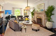 Kate Walsh's living room