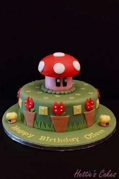 Super Mario - by Hettie's Cakes @ CakesDecor.com - cake decorating website