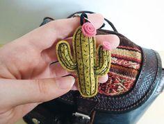 MINI llavero mexico cactus bohemio hippie chic boho fue