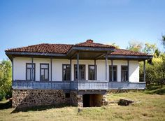 """Traditional houses in rural Romania (case traditionale romanesti) *** Upon arriving in her new home country in the young wife of Prince Carl of Romania noticed in her writings: """"Every R… Romania People, Vernacular Architecture, Drawing Architecture, Rural House, Wooden Gates, Traditional House, Old Houses, Homesteading, House Plans"""