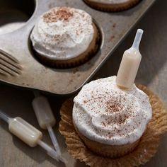 RumChata Banana Cream Cupcakes