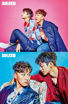Seo In Guk and Oh Dae Hwan for Dazed and Confused Korean Men, Korean Actors, Superstar K, Shopping King Louis, Seo In Guk, Singing Career, King Louie, Dazed And Confused, Tumblr