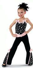 NWT Dance Skate Costume Dress Lyrical Tap Jazz Twirl Baton 4437 Leo & Pants
