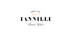 Logo for Monterrey-based traditional Italian restaurant Iannilli designed by Savvy