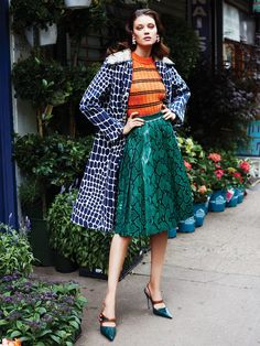 The Look: Diana Moldovan by Enric Galceran for Vogue México September 2015 - Miu Miu Fall 2015