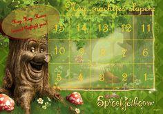 Aftelkalender verjaardag - Sprookjesboom