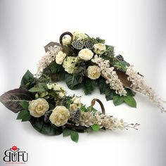 Artificial Flower Arrangements, Artificial Flowers, Floral Arrangements, Grave Flowers, Funeral Flowers, Black Flowers, Silk Flowers, Christmas Wreaths, Christmas Decorations