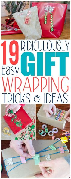 19 Borderline Brilliant Gift Wrapping Hacks