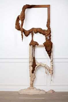 The Melting Wooden Frames of Rémy Clémente and Morgan Maccar | Hi-Fructose Magazine