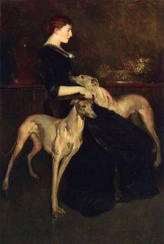 Anna Palmer Draper - John White Alexander (1856-1915)