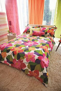 Vibrant #bedding collection by Scion.
