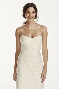 This lace sheath is the epitome of chic sophistication!