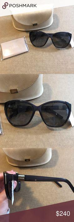 b5b0fe2edf31 Shop Women s Chloe Black size OS Sunglasses at a discounted price at  Poshmark. Black Chloe sunglasses brand new!