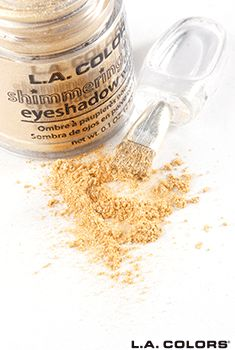 L.A. Colors Shimmering Loose Eyeshadow- Sunshine Gold