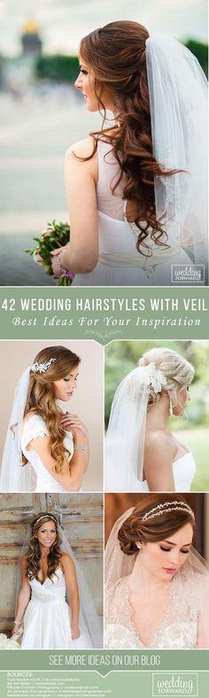 18 Ideas Diy Wedding Hairstyles With Veil Bridesmaid - flower girl hairstyles wedding veil photography Veil Hairstyles, Flower Girl Hairstyles, Wedding Hairstyles For Long Hair, Hairdos, Updos, Easy Hairstyles, Diy Wedding Hair, Short Wedding Hair, Bridal Hair