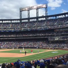 April 8, 2016 - Opening Day at Citi Field, the home of the New York Mets.