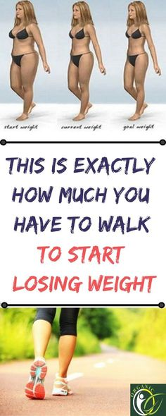 This Is Exactly How Much You Have To Walk To Start Losing Weight