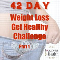 PLEASE join me for my 42 day weight loss - get healthy challenge. WE CAN DO THIS! This plan is SO easy!!! Join us TODAY!!!