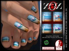 Beach polish for Cosmopolitan room June 8th - 21st ... limo at website or LM at main shop